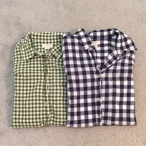 J. Crew Gingham Shirt Bundle